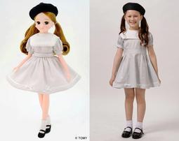 神戸三宮オリジナルのリカちゃん人形とおそろいのワンピース