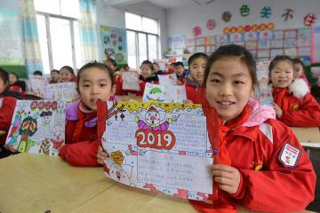 中国で新学期始まる 各地で初日の特別授業