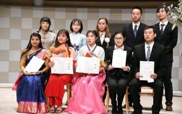 【街 みらい】北九州で学び、働きたい 外国人留学生が日本語スピーチ 弁論大会、多様な国籍で活況 [福岡県]