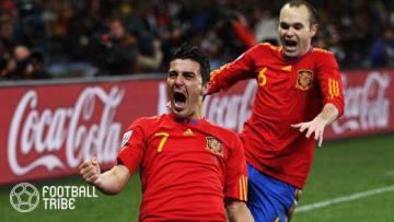 元スペイン代表のダビド・ビジャ 写真提供:GettyImages