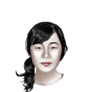 韓国・鍾路警察署が制作した現在の中村三奈子さんのイメージ画像