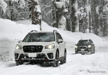 スバル フォレスター アドバンス(e-BOXER)でスバルAWDの故郷、山形を雪上ドライブ