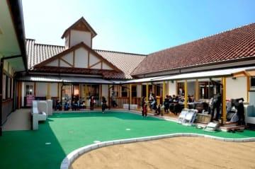 完成した大洲市立菅田保育所の新園舎