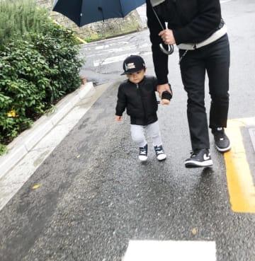 加護亜依、愛息2歳の誕生日を祝福し思い出写真を続々公開「主人にそっくりなんです」