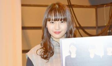 名古屋市内で行われたCBCテレビの深夜連続ドラマ「チャンネル5.5『ゼブラ』」のミニ試写会イベントに登場した浅川梨奈さん