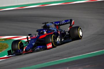 トロロッソF1、新人アルボンのテストでの走りを「期待以上の素晴らしい仕事」と賞賛