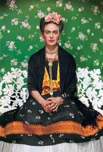 Nickolas Muray, Frida on Bench, 1939 © Nickolas Muray Photo Archives