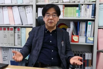 東京大学大学院教授の木宮正史さん(朝鮮半島政治)