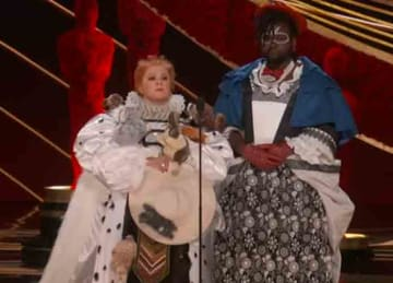 Melissa McCarthy and Brian Tyree Henry mock 'The Favourite' at Oscars 2019