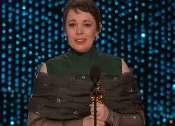 Olivia Colman wins Best Actress Oscar for 'The Favourite' (2019)