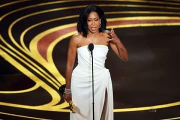 「第91回アカデミー賞」助演女優賞を受賞したレジーナ・キングさん(C)Getty Images