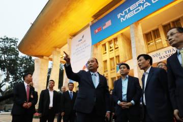 第2回朝米首脳会談の国際メディアセンター公開