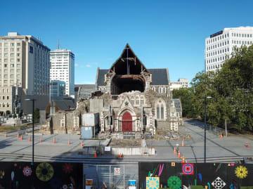 NZ地震8年、クライストチャーチ大聖堂を訪ねて