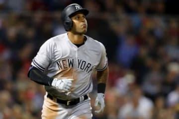 ヤンキースのアーロン・ヒックス【写真:Getty Images】