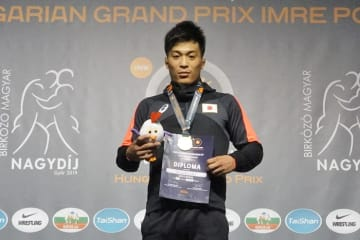 昨秋の世界選手権開催国ハンガリーで金メダル獲得の太田忍(ALSOK)