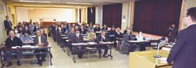 計27陣営が出席した市長選、道議選、市議選の立候補予定者事前説明会