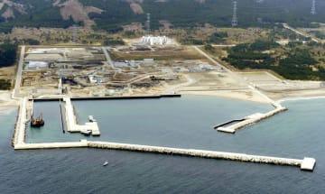 福島第1原発事故以来建設が中断している東京電力の東通原発=2011年5月