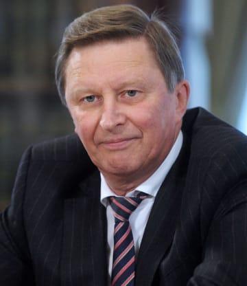 ロシアのセルゲイ・イワノフ大統領特別代表(タス=共同)