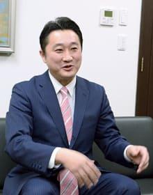 「市町村に頼られる道庁を目指す」と語る石川氏