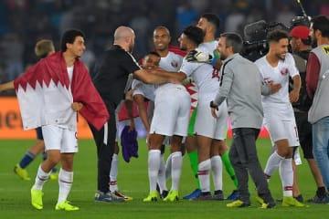 アジアカップ制したカタール代表 photo/Getty Images