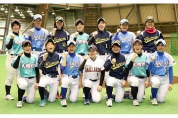 国際女子野球キャンプに「北海道オールスターズ」が初出場【写真:編集部】