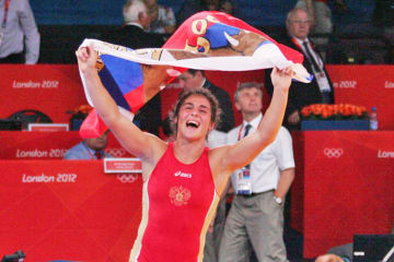76kg級で東京オリンピックを目指すことが確実となったナタリア・ボロビエワ(ロシア)