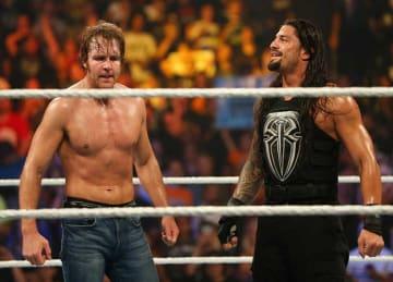 Dean Ambrose Beats The Miz at SmackDown Live Intercontinental Championship