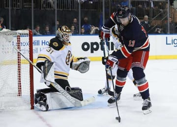 Rangers Rally From Two Down to Beat Bruins 5-2