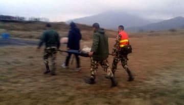 ネパールでヘリ墜落 民間航空相ら7人死亡