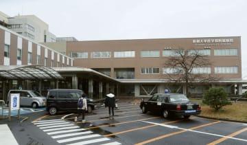 島根大病院=28日午前、島根県出雲市