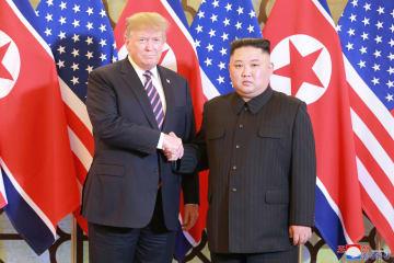 朝米首脳、2回目の首脳会談