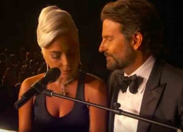 Bradley Cooper and Lady Gaga perform