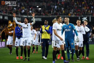 ロドリゴの決勝弾でバレンシアが決勝進出
