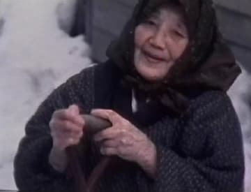 80歳のころのタケさんの8ミリ映像(柳澤さん撮影)