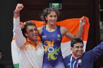 53kg級で東京オリンピックを目指すインド女子期待のビネシュ・フォガト