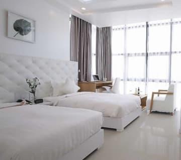 ブランドが変わり、新たにオープンした「たびのホテルダナン」の客室(サンフロンティア不動産提供)