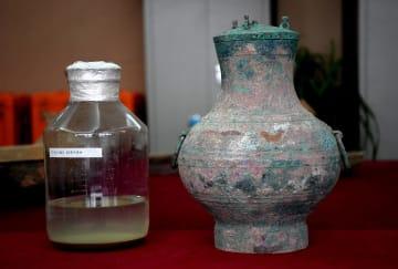 昨年発見された前漢時代の液体、「仙薬」と判明 河南省