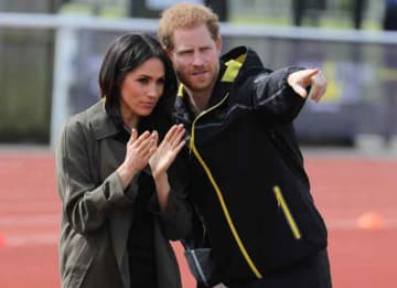 Prince Harry & Meghan Markle Watch UK Team Trials For Invictus Games