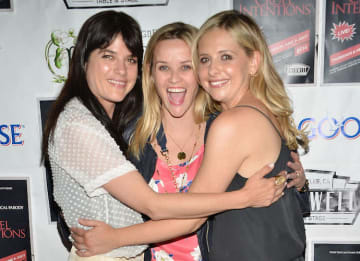 Sarah Michelle Gellar, Reese Witherspoon And Selma Blair Attend