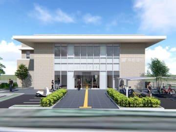 新しい亀岡支店の完成イメージ図