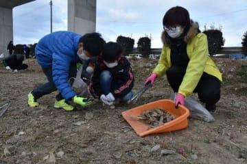 「いのりんジャパン」が実施した前回のクリーン作戦=1月26日