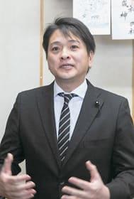4選出馬の抱負を語る中山智康氏