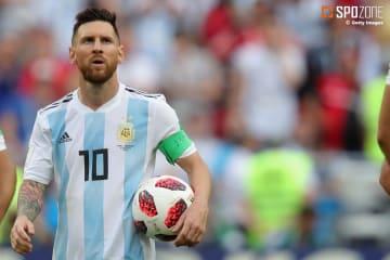 メッシはワールドカップ以来初の代表復帰に