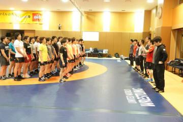 2月末に続いての合宿となった全日本女子チーム