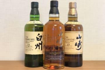 高値で売られる国産ウイスキー(「2本で120万円超」の酒とは異なる)