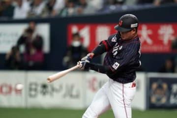 侍ジャパンの「7番・三塁」を務めるヤクルト・村上宗隆【写真:Getty Images】