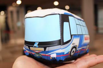 高速バス型の走るおもちゃ