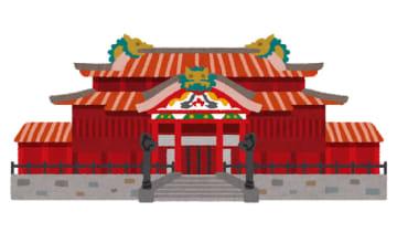 首里城(いらすとや)