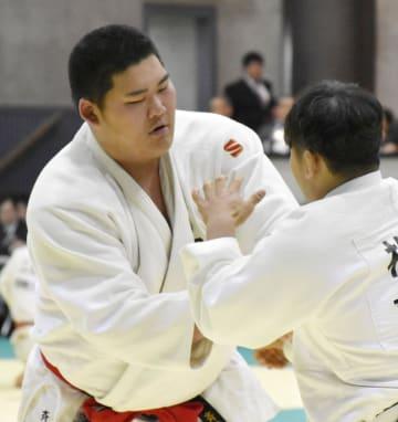 最年少で柔道の全日本選手権への出場を決めた斉藤立=東京武道館