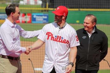 フィリーズとの大型契約を結んだブライス・ハーパー【写真:Getty Images】